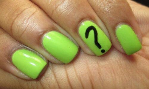 Es malo pintarse mucho las uñas