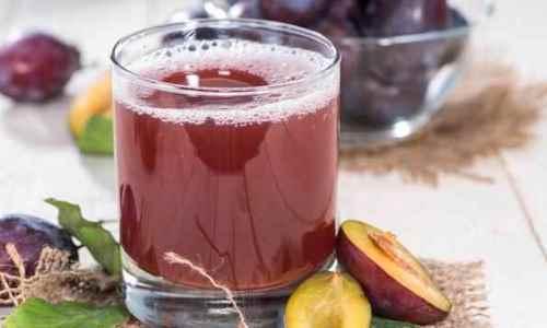 zumo de ciruela para combatir las llagas bucales