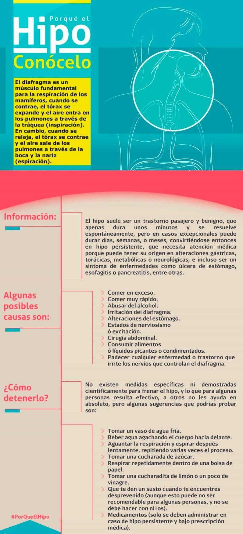 información sobre el hipo