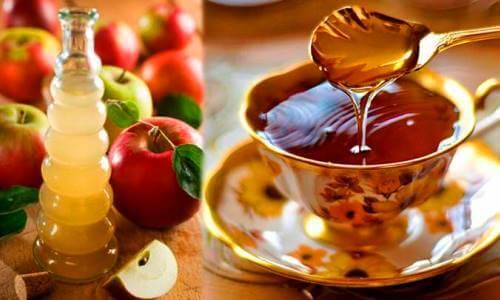 miel y vinagre de manzana contra el estrenimiento