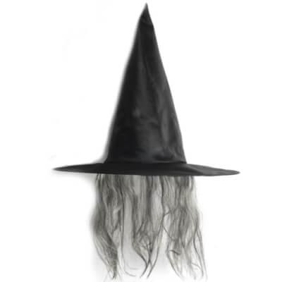cabello peinado de bruja