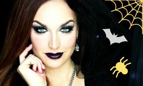 maquillaje disfraz de bruja casero