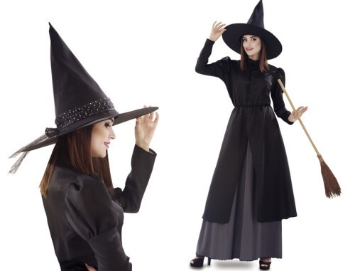 vestido de bruja