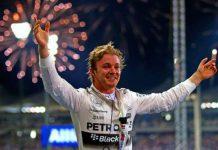 Campeón del F1 Nico Rosberg