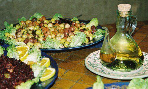 aceite de argán gastronomia
