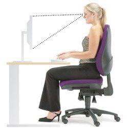 evitar el dolor de espalda alta y cervicales