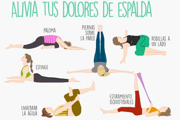 ejercicios para dolor de espalda baja