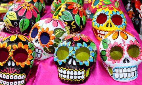 mascaras calaveras mexicanas