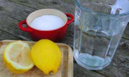 remedio diarrea limon agua sal y bicarbonato