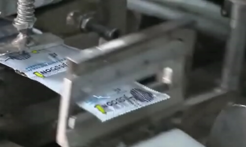 proceso de fabricación y envasado profilácticos