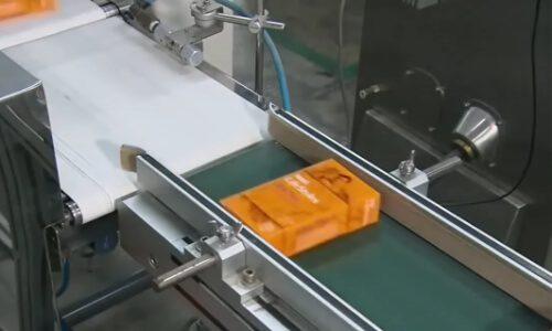 proceso de empaquetado condones