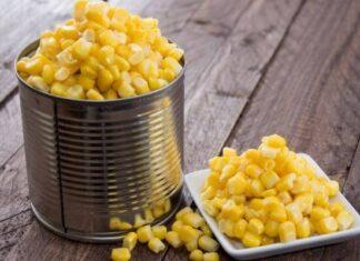 Cómo se hace el maíz enlatado